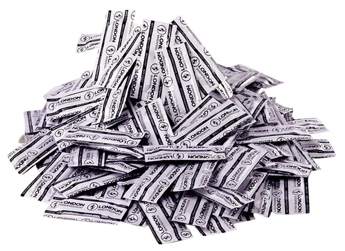 Kondomy London Wet (1000 ks)
