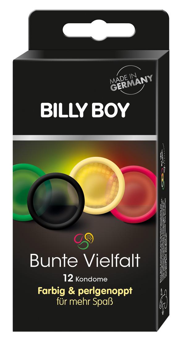 Kondómy Billy Boy Fun (12 ks)