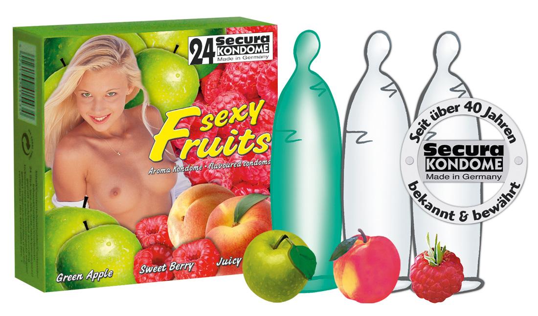 Sexy Fruits Secura (24 ks)