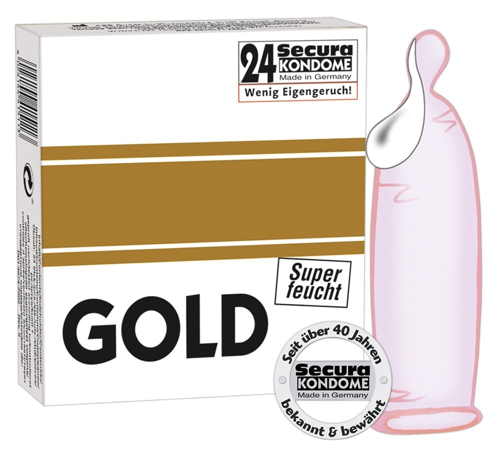 Gold SuperWet Secura (24 ks)