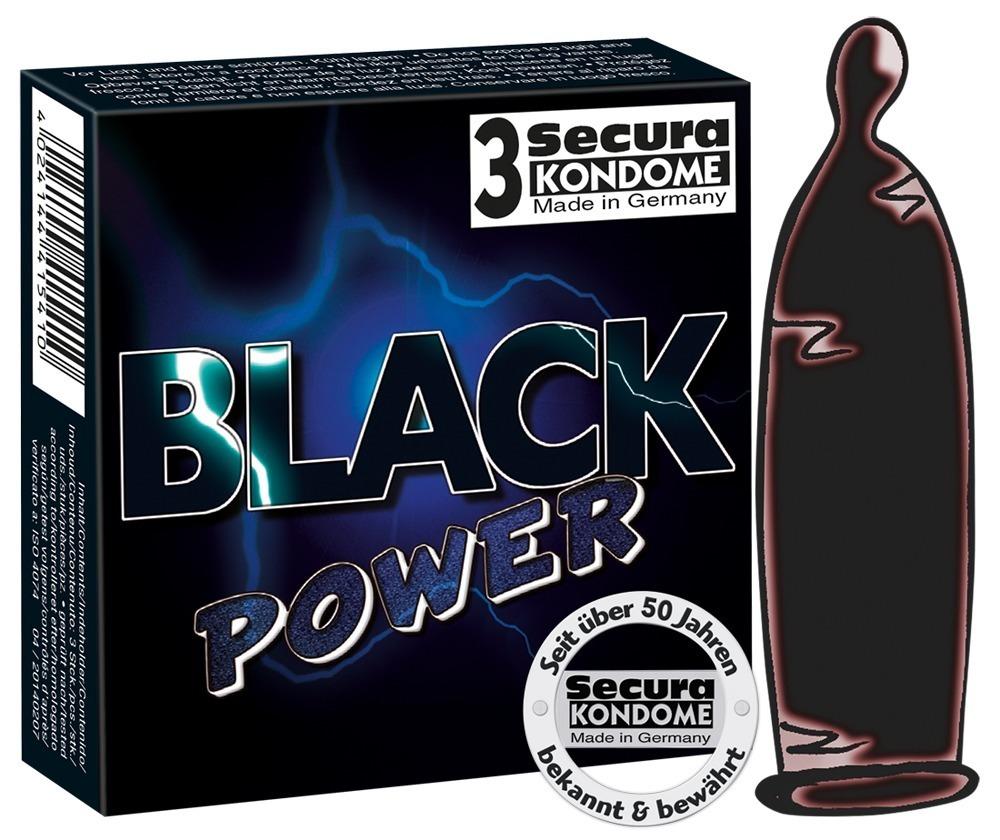 Black Power Secura (3 ks)