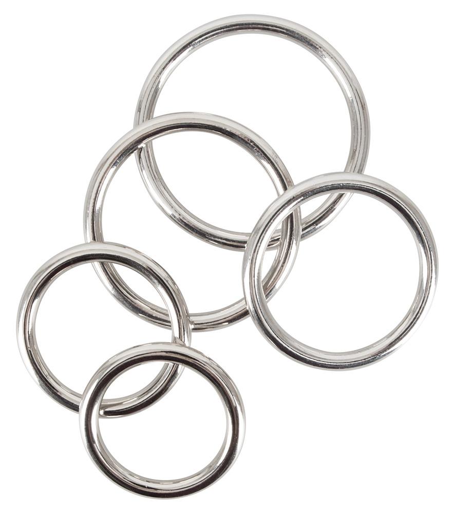 Sada 5 kroužků na penis