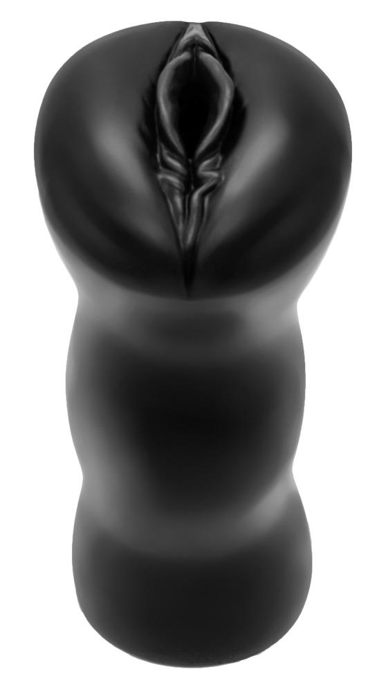 Silikonový masturbátor ManGasm černý