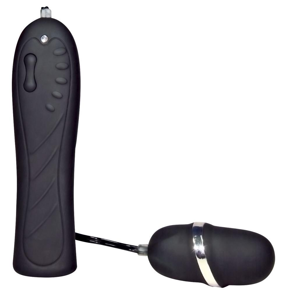 Vibrační vajíčko Petit černé
