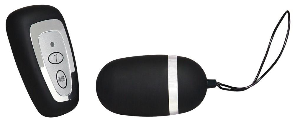 Vibrační vajíčko E7 Wireless Egg černé