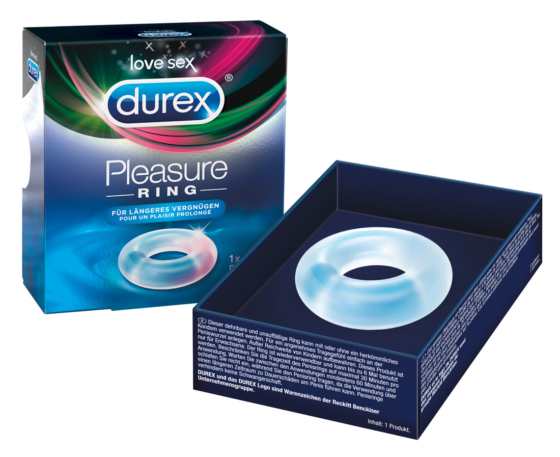Erekční kroužek Durex Pleasure Ring