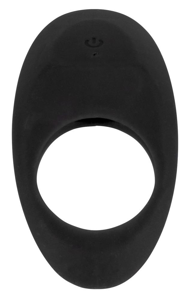 Vibrační erekční kroužek Lust černý