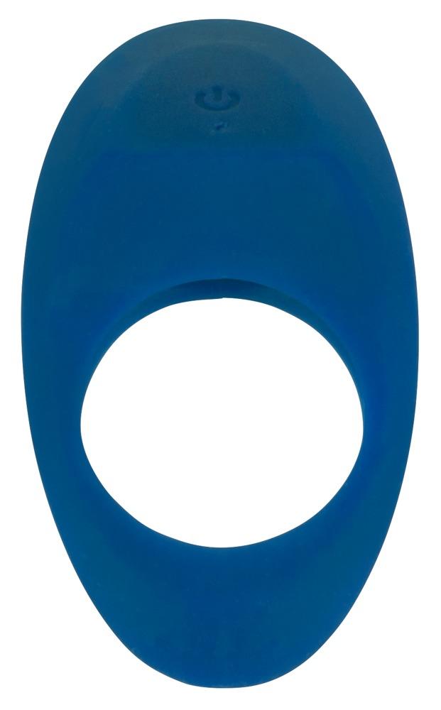 Vibrační erekční kroužek Lust modrý