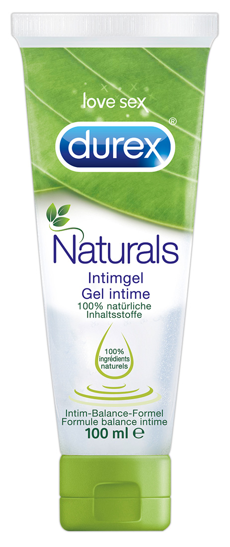 Lubrikační gel Durex Naturals (100 ml)