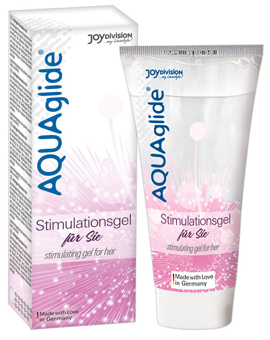 Stimulační gel AQUAglide (25 ml)