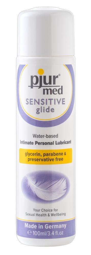 Lubrikační gel Pjur med Sensitive Glide (100 ml)