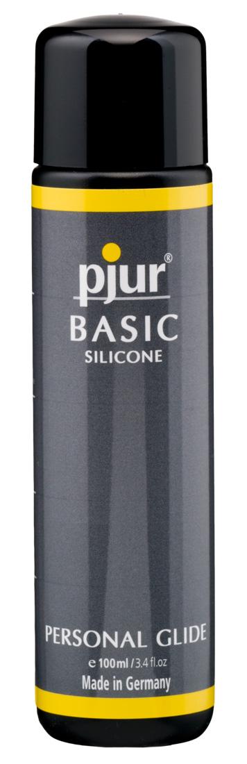 Lubrikační gel Pjur Basic Silicone (100 ml)