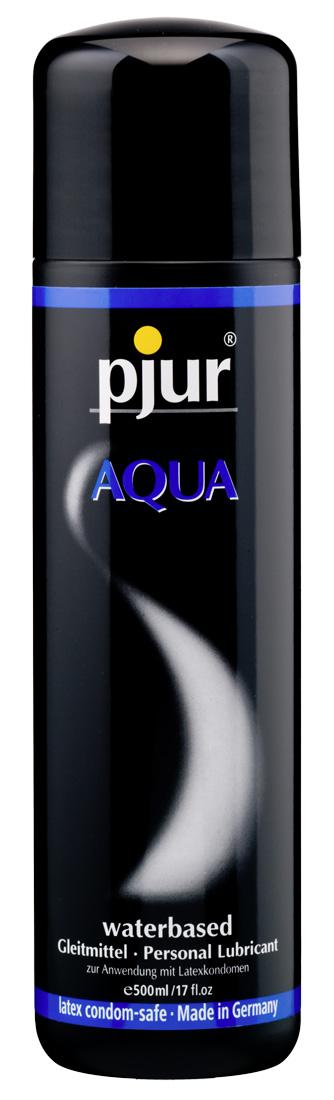 Lubrikační gel Pjur Aqua (500 ml)