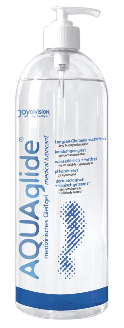Lubrikační gel AQUAglide s dávkovačem (1 litr)