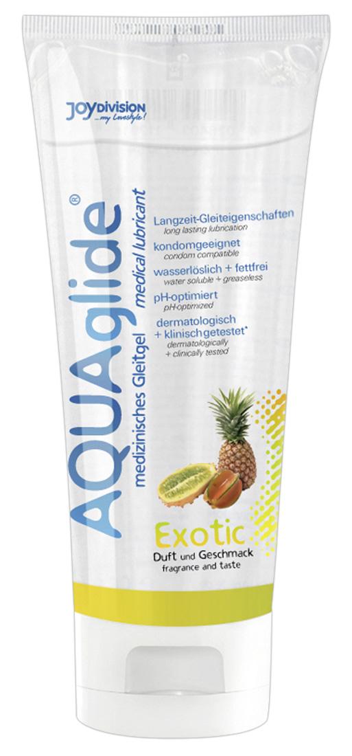 Exotický lubrikační gel AQUAglide (100 ml)