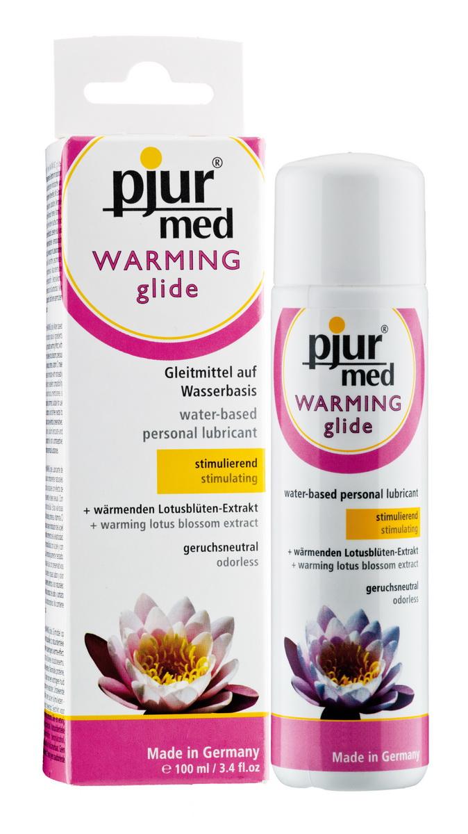 Lubrikační gel Pjur med Warming (100 ml)