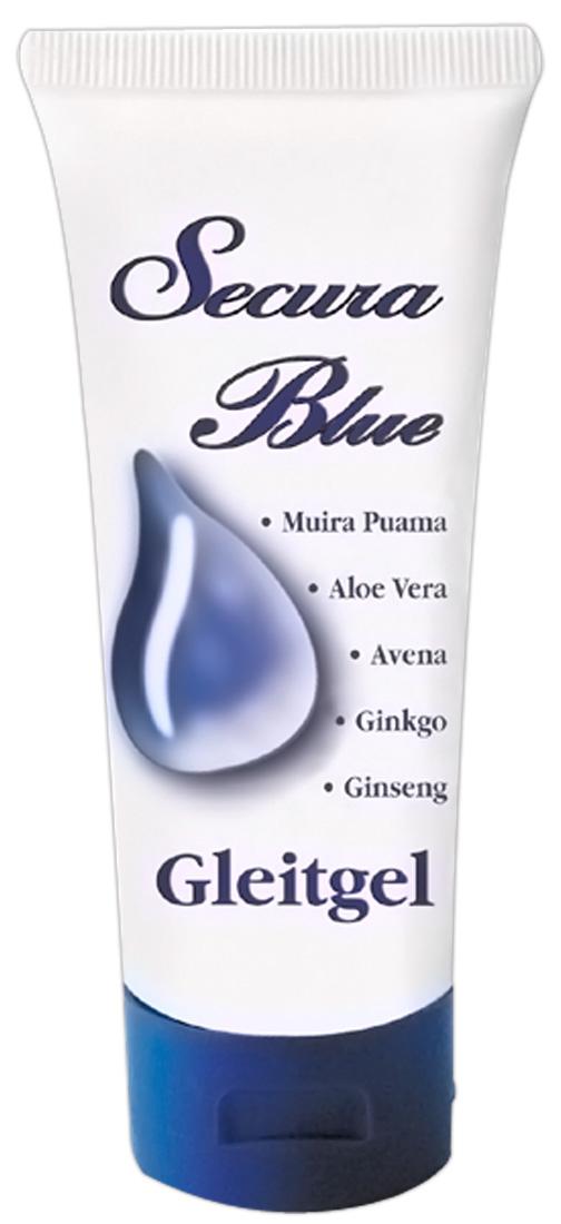 Lubrikační gel Secura Blue (50 ml)