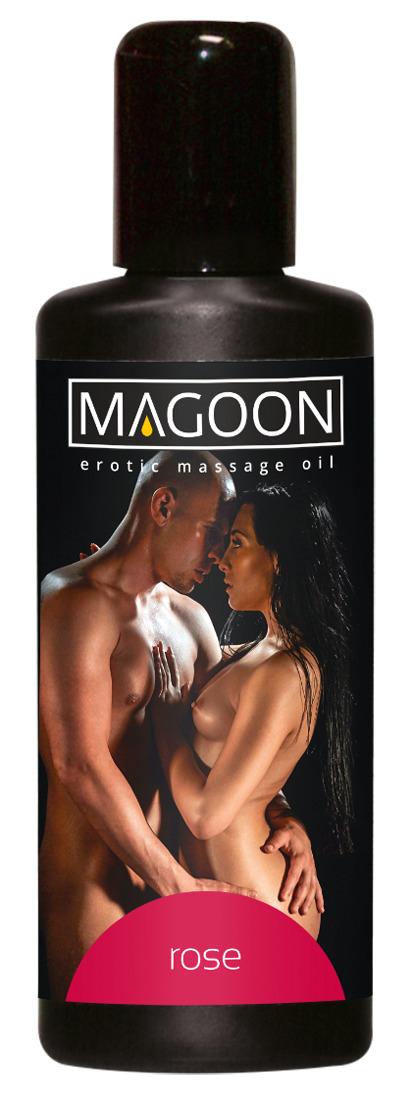 Růžový masážní olej Magoon (100 ml)