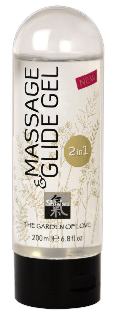 Masážní a lubrikační gel Shiatsu (200 ml)