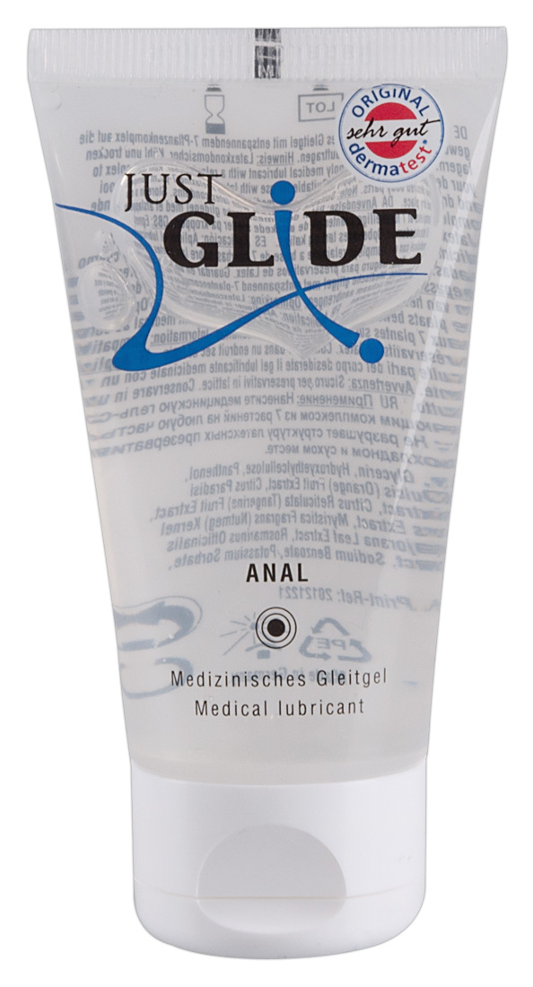 Anální lubrikant Just Glide Anal (50 ml)