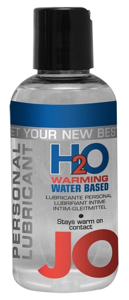 Hřejivý lubrikant JO (135 ml)