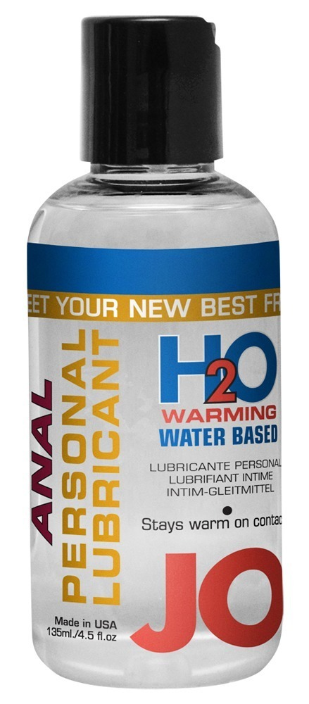Anální hřejivý lubrikant JO (135 ml)