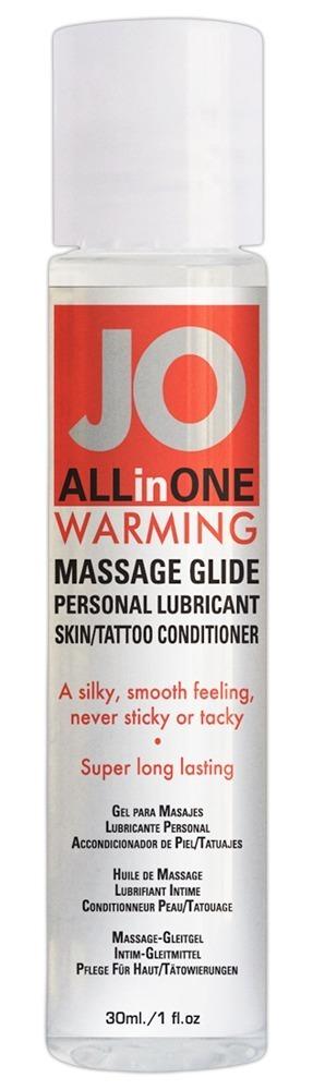 Hřejivý lubrikant JO (30 ml)