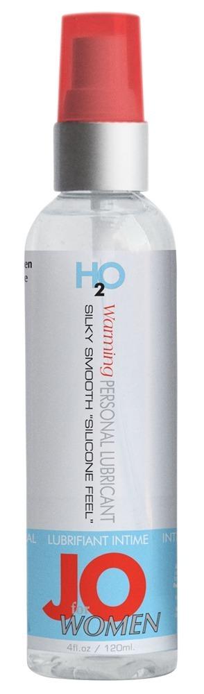 Hřejivý lubrikant pro ženy JO (60 ml)