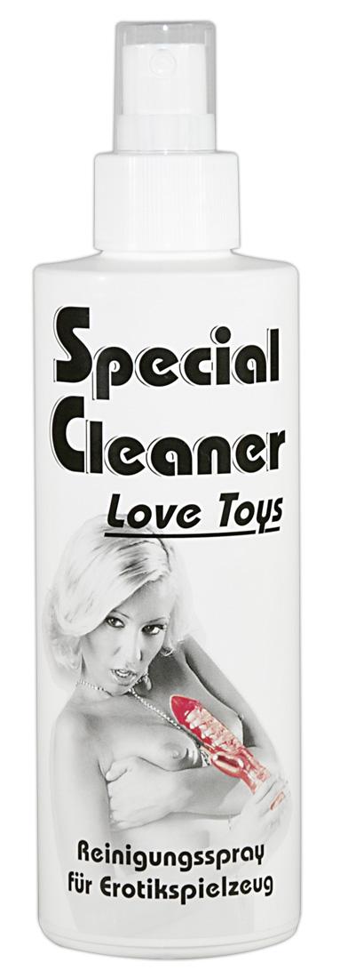 Speciální čistič - sprej na erotické pomůcky (200 ml)
