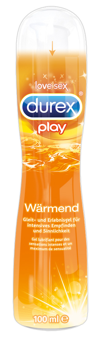 Play Warming lubrikační gel Durex (100ml)