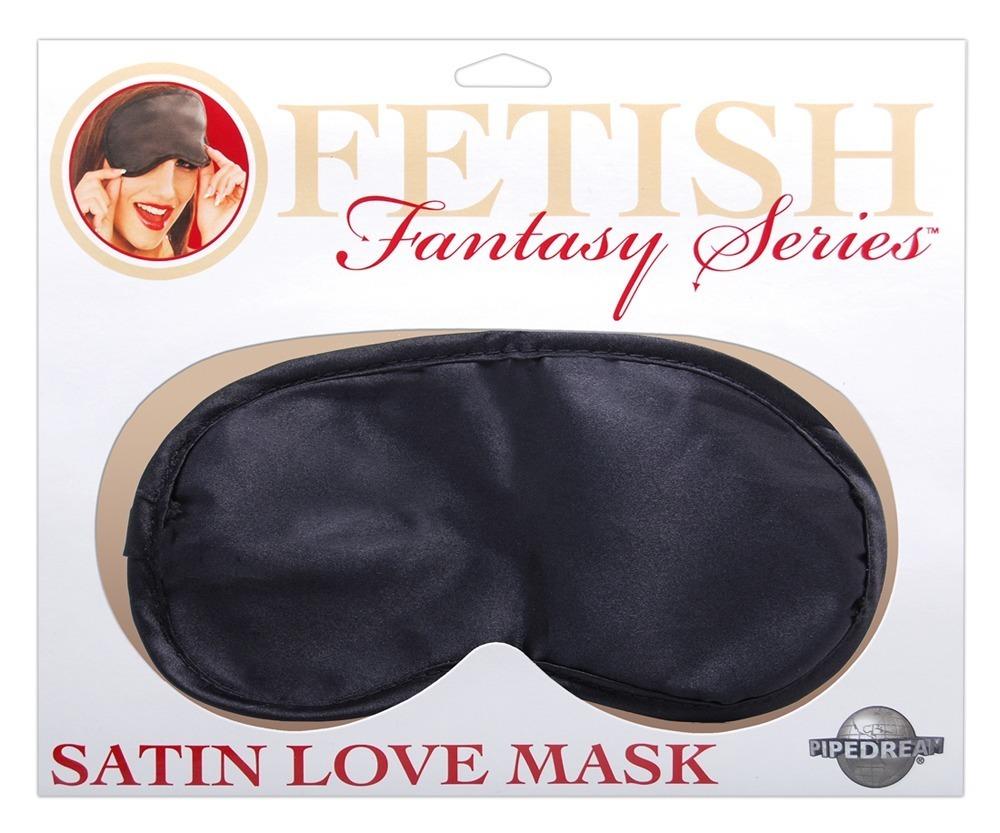 Saténová maska na oči