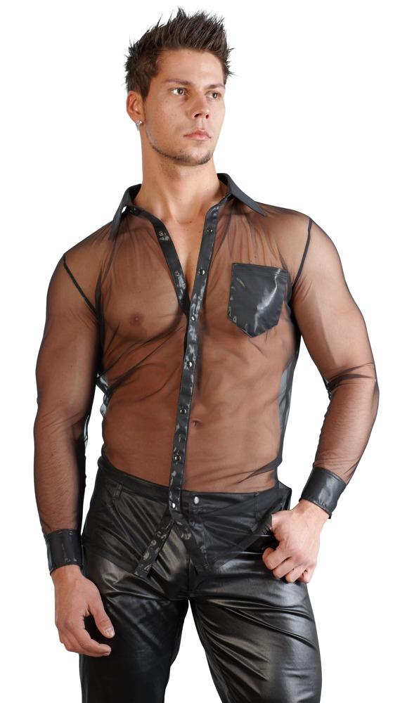 Pánská průhledná košile (velikost S)