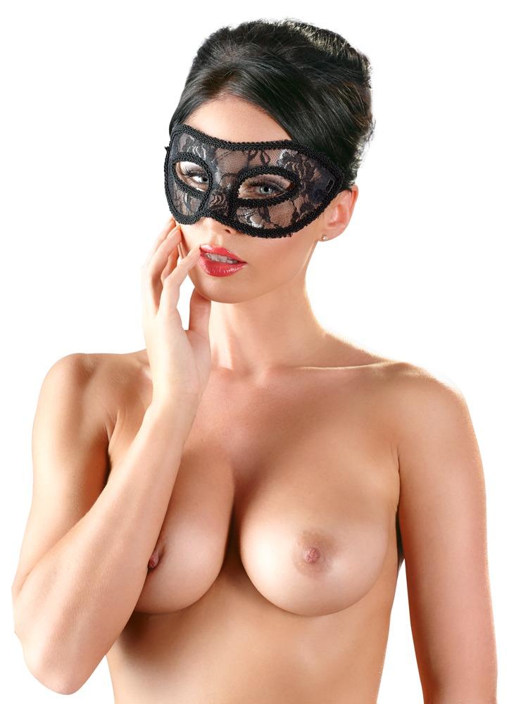 Krajková maska na obličej