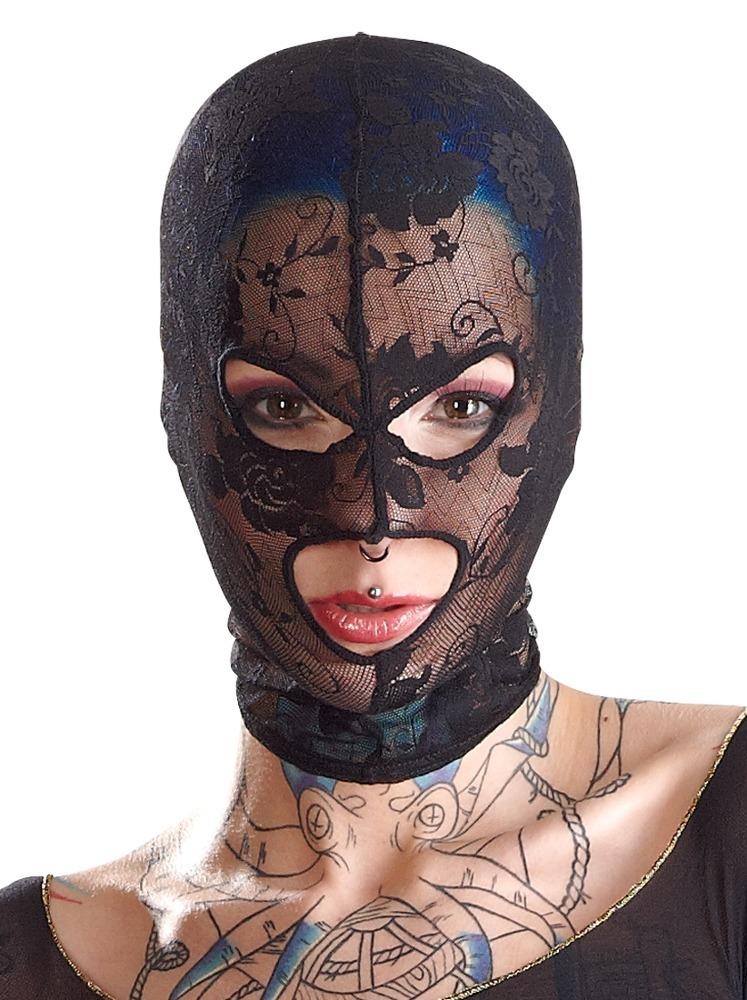 Maska na hlavu Bad Kitty