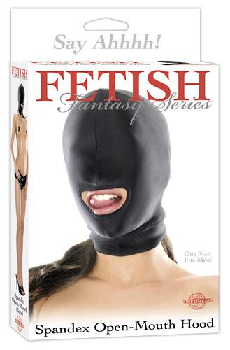 Maska s otvorem pro ústa