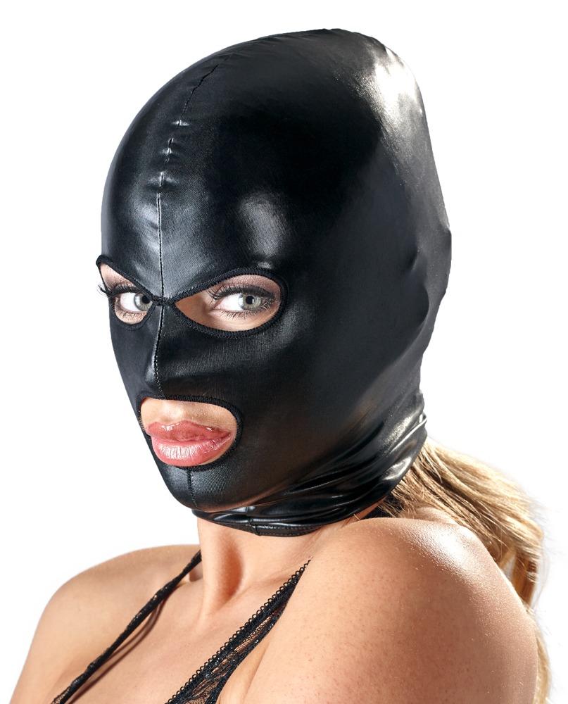Černá maska na hlavu