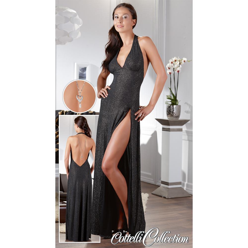 Dlouhé šaty Glamour (velikost XL)