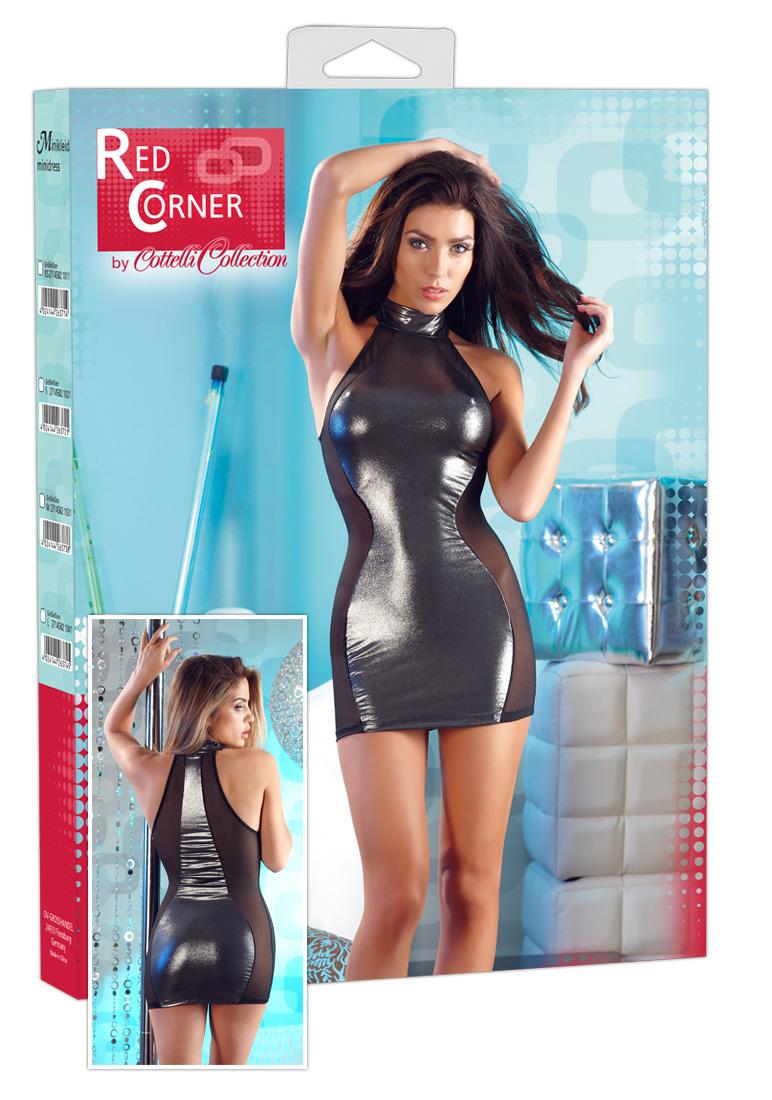 Lesklé šaty (velikost S)