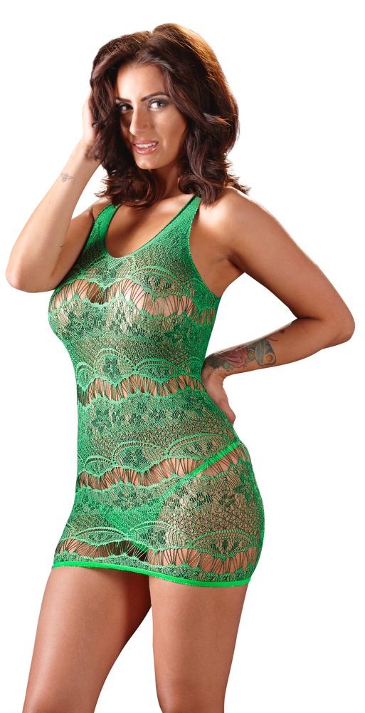 Zelené šaty (velikost S/L)