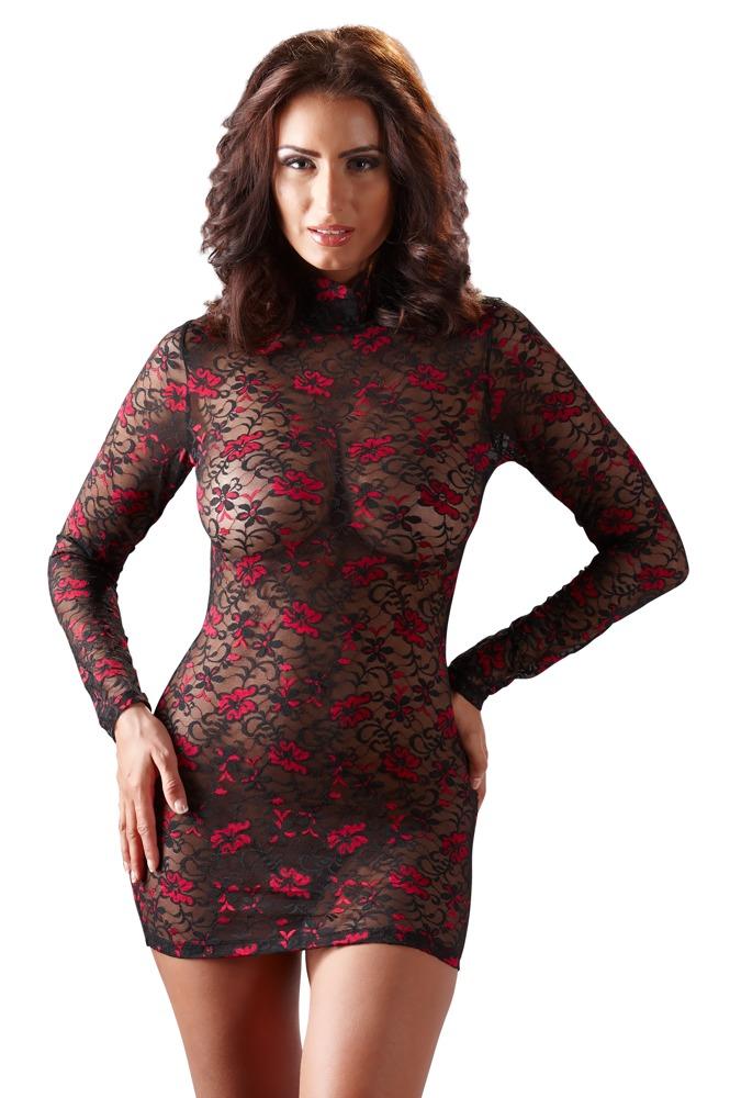 Krajkové šaty (velikost S)