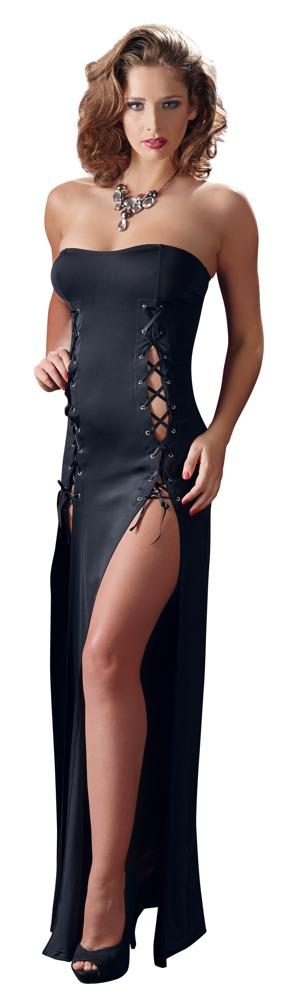 Dlouhé šaty se šněrováním (velikost S)