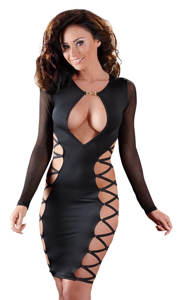 Šaty se šněrováním (velikost XS)