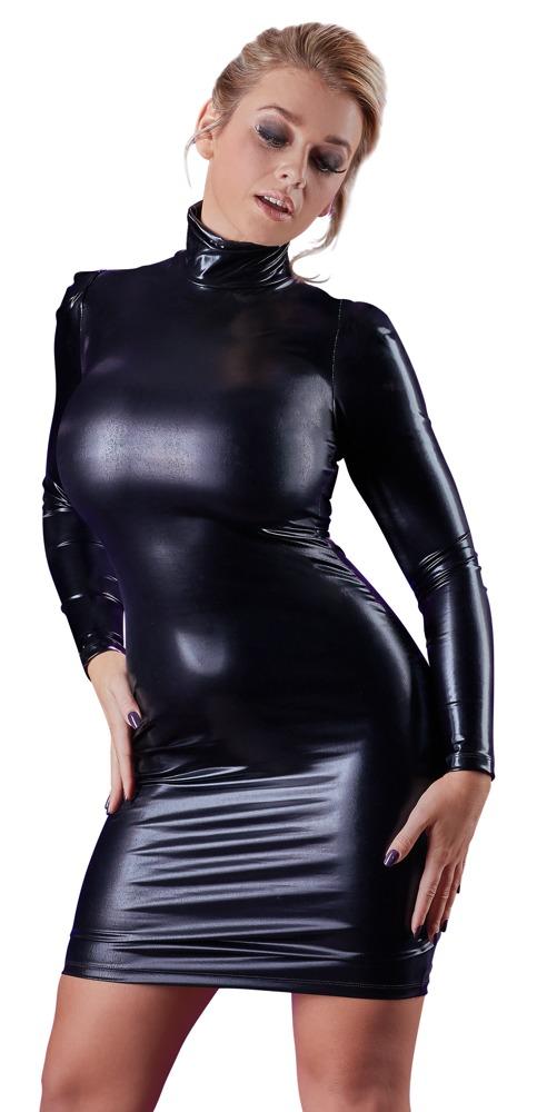 Wetlook šaty (velikost S)