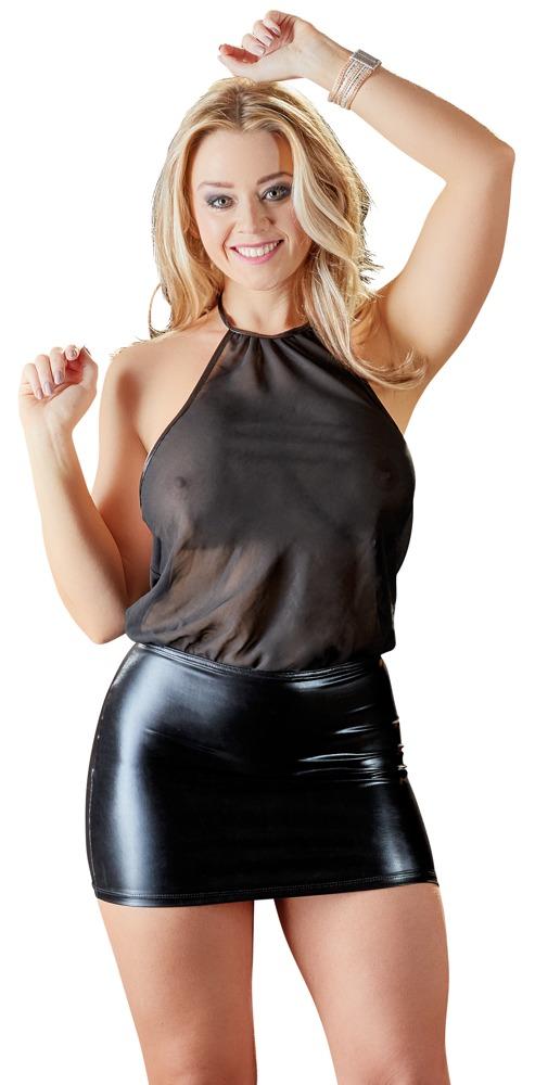 Šifónové šaty (velikost S)