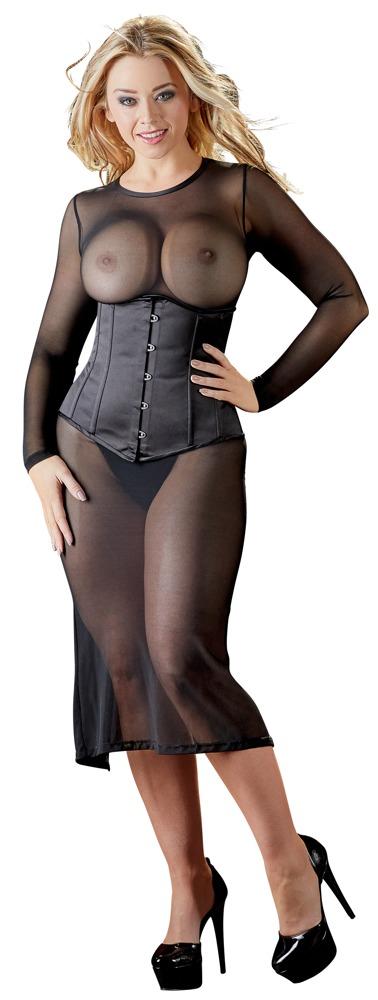 Dlouhé šaty Basic (velikost S)