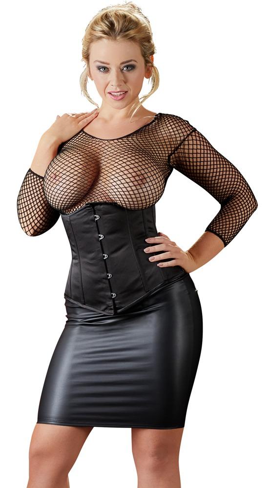 Mini-sukně černá (velikost XL)