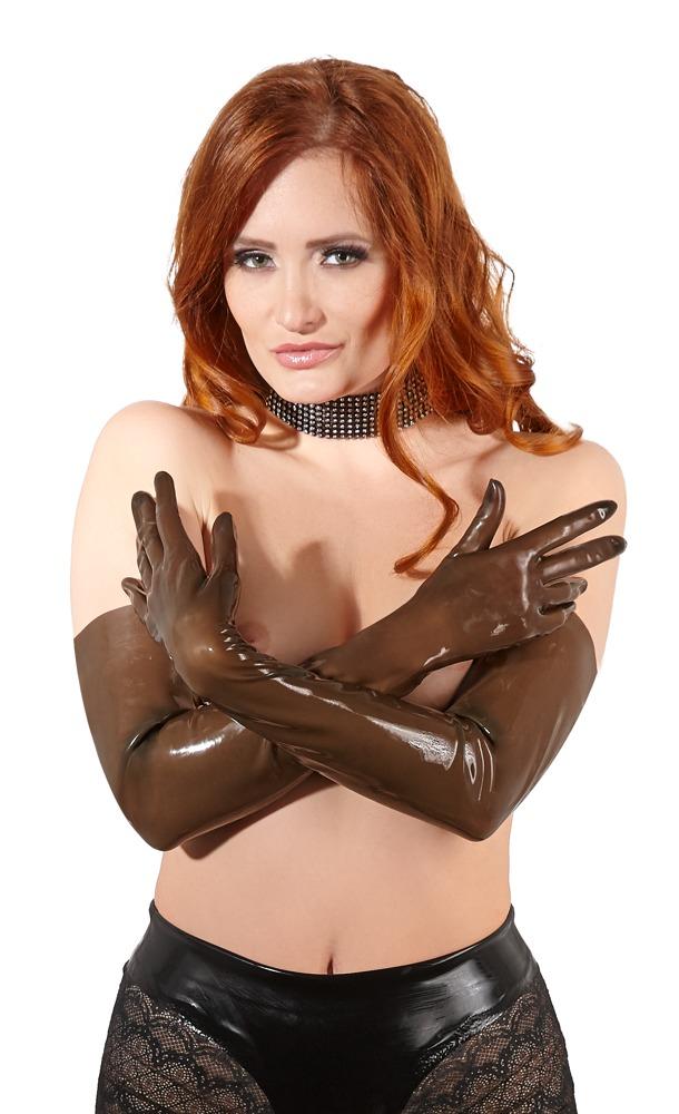 Latexové rukavice (velikost M)