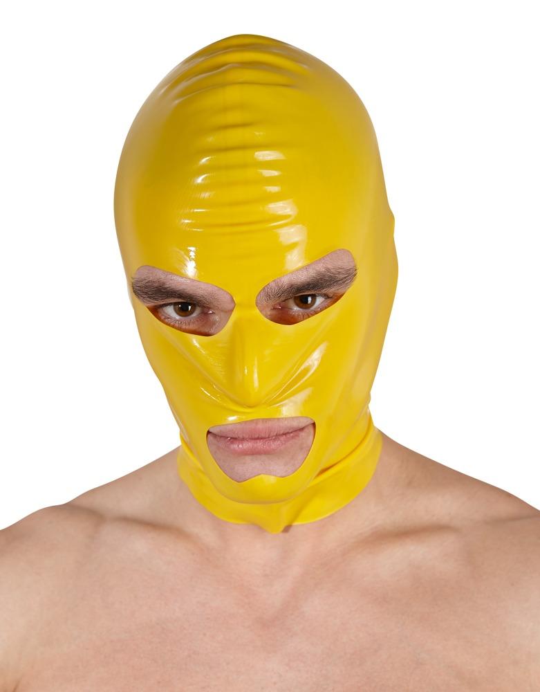 Latexová žlutá maska