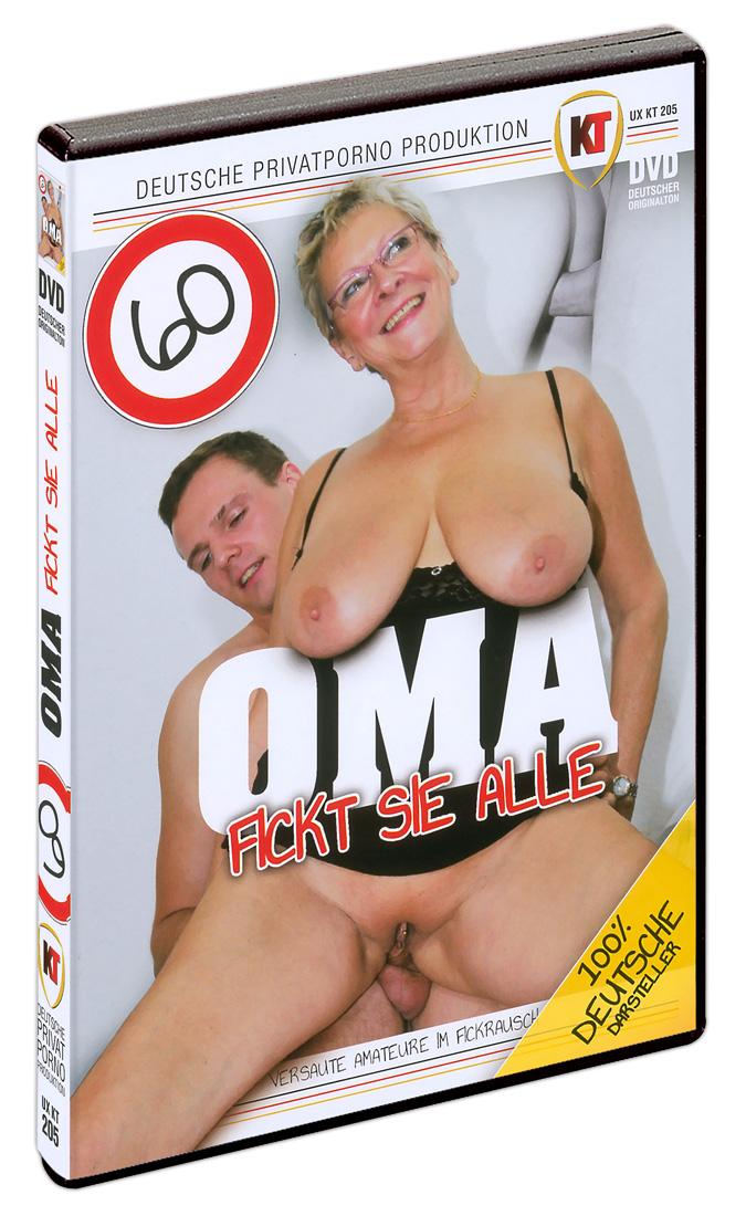 DVD - 60-letá babička váš vše vyjebe