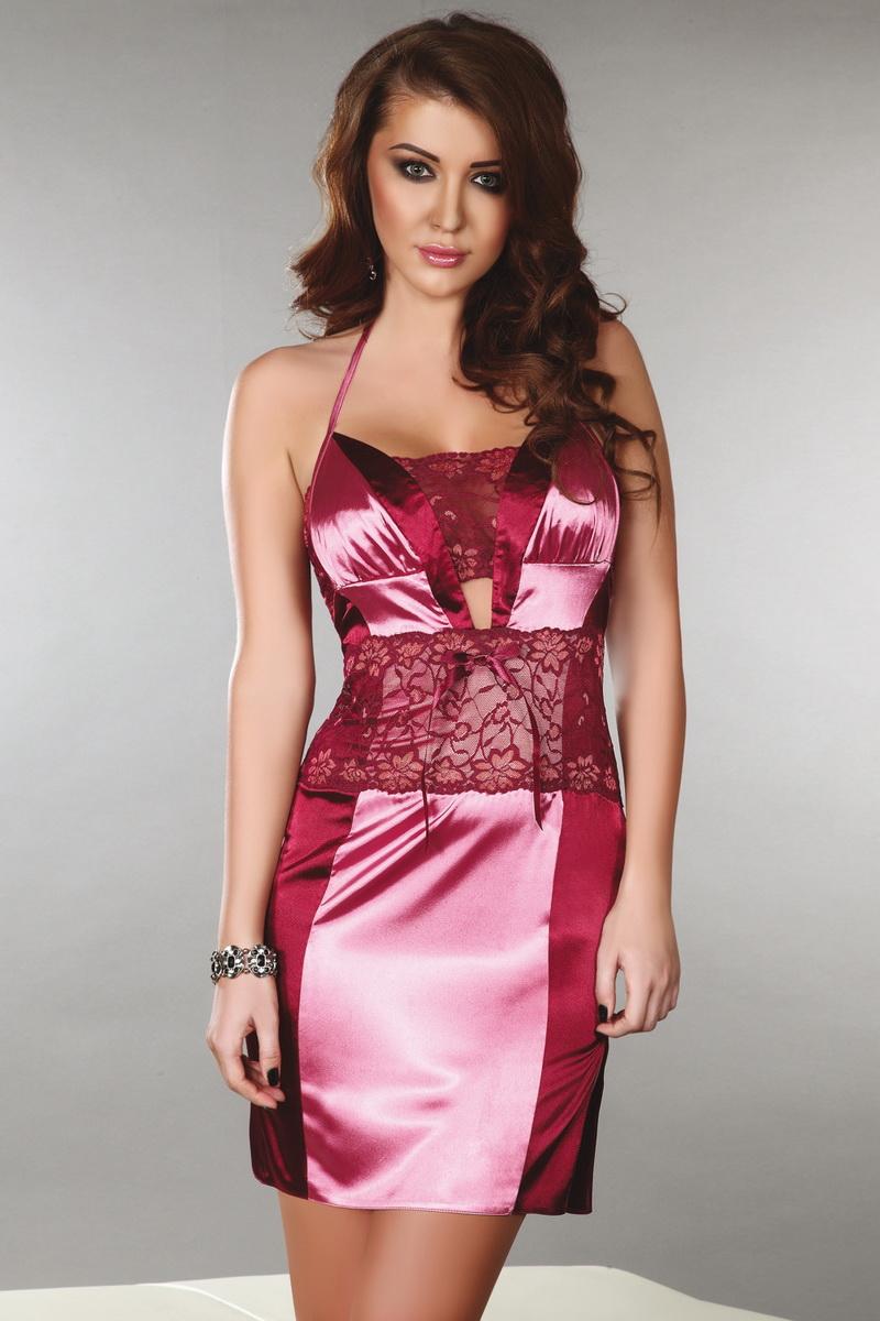 Košilka LivCo Corsetti Priya růžová (velikost S)